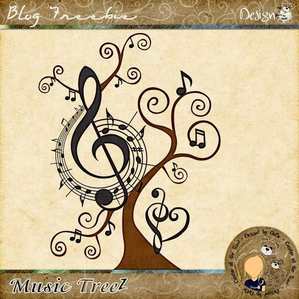 Music TreeZ by DeDe Smith (DesignZ by DeDe) | www.designzbydede.com | #DesignZbyDeDe #Music #Tree #MusicTree #BlogFreebie #MusicNotes #Song #LoveMusic:
