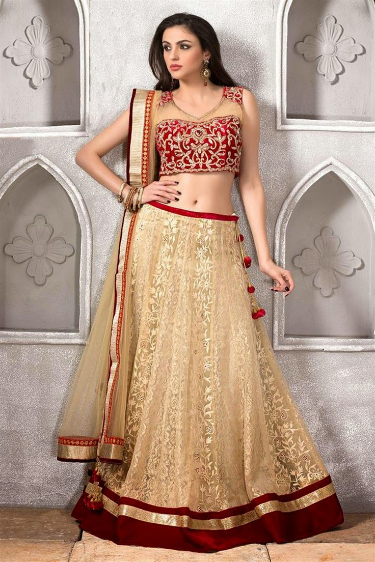 Fashion: Designer Party Wear Lehenga and Churidar Suits 2015 Collection Pics