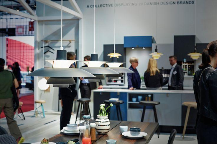 Danish Living Room,   PH 5 Contemporary, PH 3½-3 Pendant, Wohlert Pendant.  Photo: Martin Sølyst