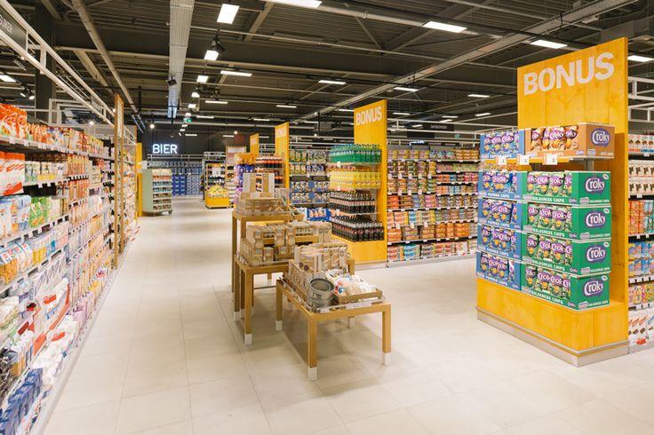 Dry department at Albert Heijn XL