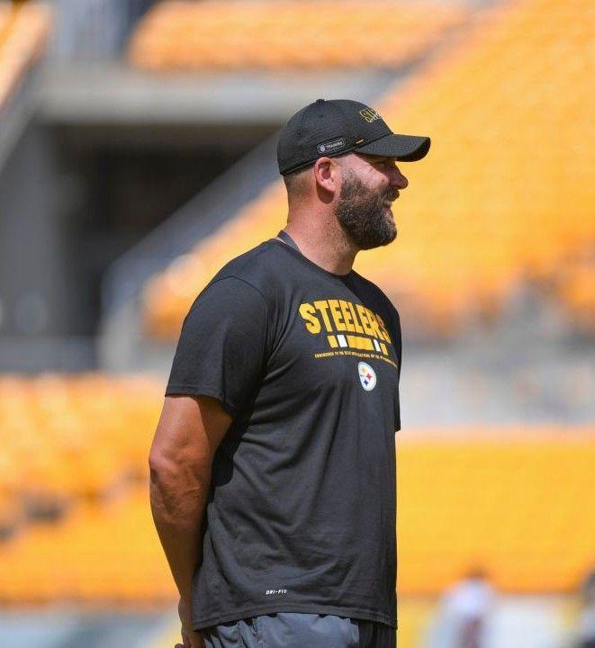 Ben Roethlisberger Pittsburgh Steelers In 2020 Mens Tshirts Mens Tops Mens Graphic Tshirt