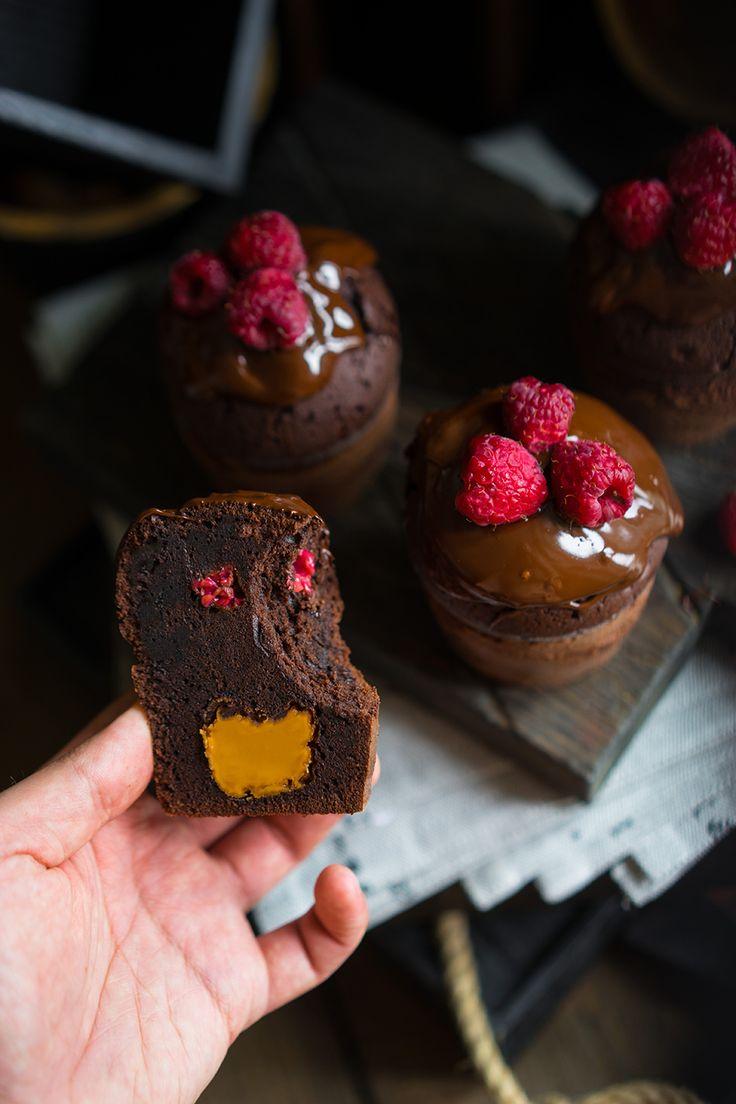 Шоколадный десерт с сюрпризами