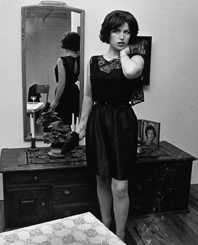 Cindy Sherman: Untitled film still number 14, 1978. Courtesy Sprüth Magers Berlin London and Metro Pictures © Cindy Sherman