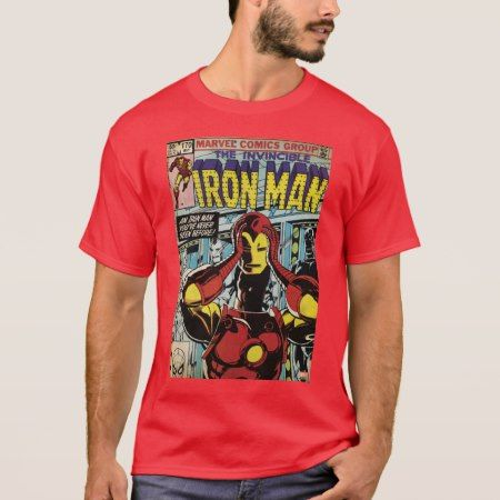 Iron Man Comic #170 T-Shirt - tap to personalize and get yours