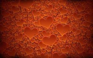 ada363c51c40d85b90f7d87bd5d1408a love wallpaper computer wallpaper - Desktop Wallpaper: Orange Hearts Wallpa...