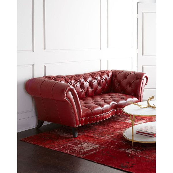 Sofa Red Leather: 25+ Best Ideas About Red Leather Sofas On Pinterest