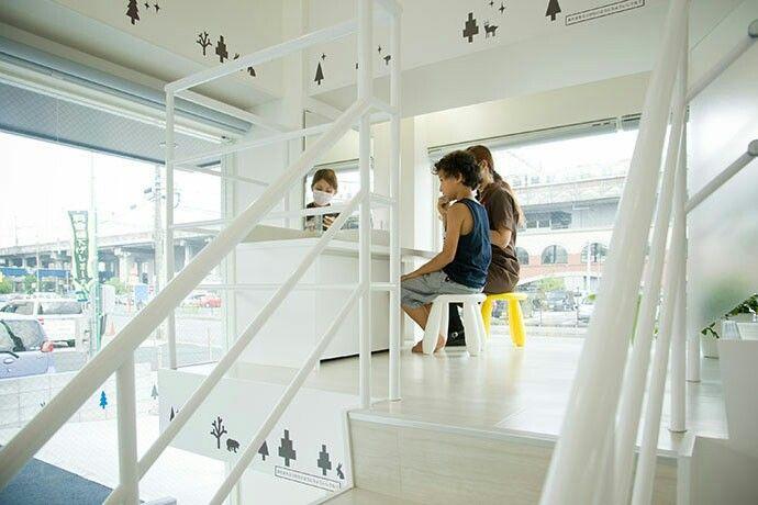 歯科医院。TBIコーナー。店舗デザイン;名古屋 スーパーボギー http://www.bogey.co.jp