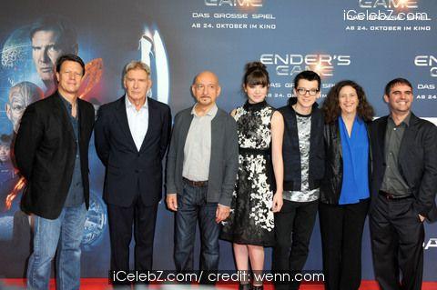Photocall for 'Ender' http://www.icelebz.com/events/photocall_for_ender_s_game_at_hotel_adlon/gallery1.html