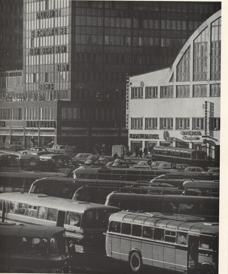 Kamppi in 1966. Photo: Asko Rysä. Published in Helsinki and Her People.