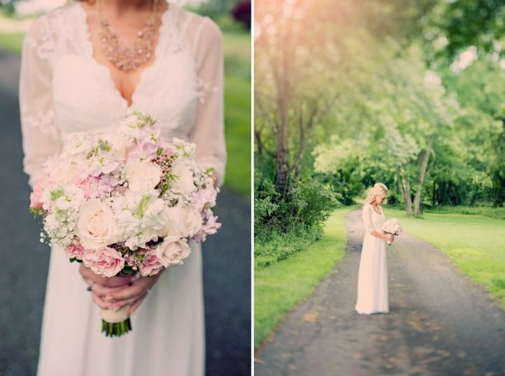Beautiful textured bouquet; Vintage Bohemian Rustic Barn Wedding
