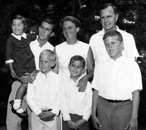 George H.W. Bush family