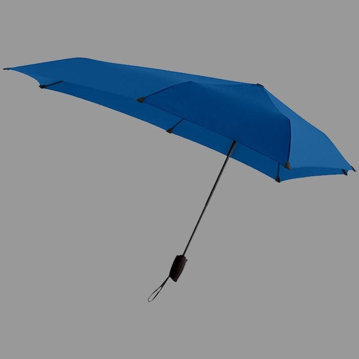 parasole reklamowe senz° automatic niebieski – Parasole reklamowe z nadrukiem Senz