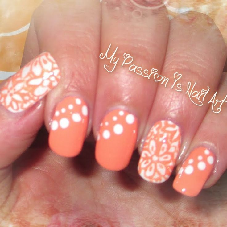 Best 25 Peach Colored Nails Ideas On Pinterest Summer