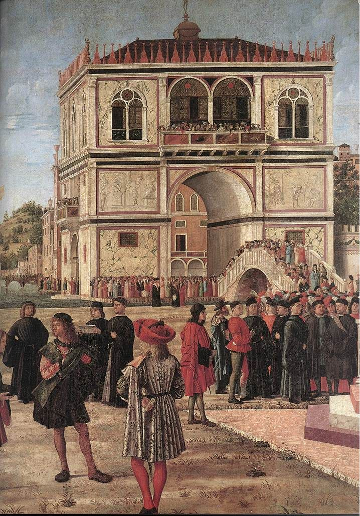 a description of vittore carpaccio born around venice italy Vittore carpaccio (b~1465), an italian painter of the venetian school, died about this time in 2014 jan morris authored ciao, carpaccio: an infatuation links: artist , italy , venice.