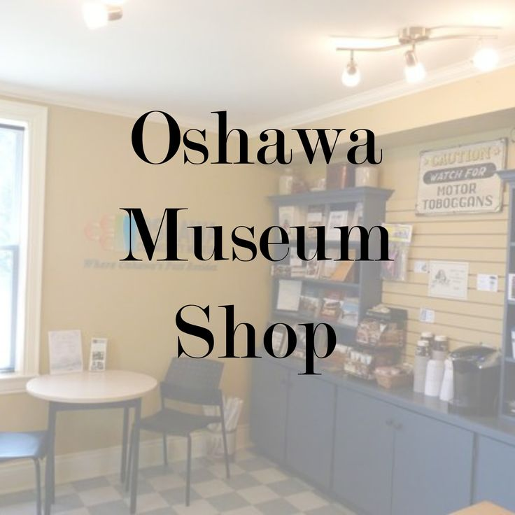 A look at the Oshawa Museum Shop and the unique merchandise we sell. From local history publications, unique seasonal items, and fudge and candy sticks, there's always something to find at the Oshawa Museum Shop