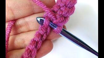 Episode 193: How to Crochet the Foundation Single Crochet Stitch (fsc) - YouTube