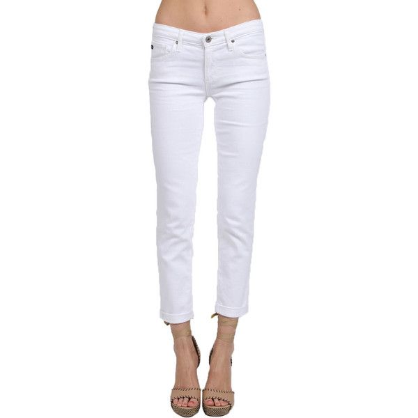 AG Jeans, as seen on Vanessa Minnillo and Eva Longoria, has become synonymous with great quality, design and state-of-the-art washes. This cropped jean feature…