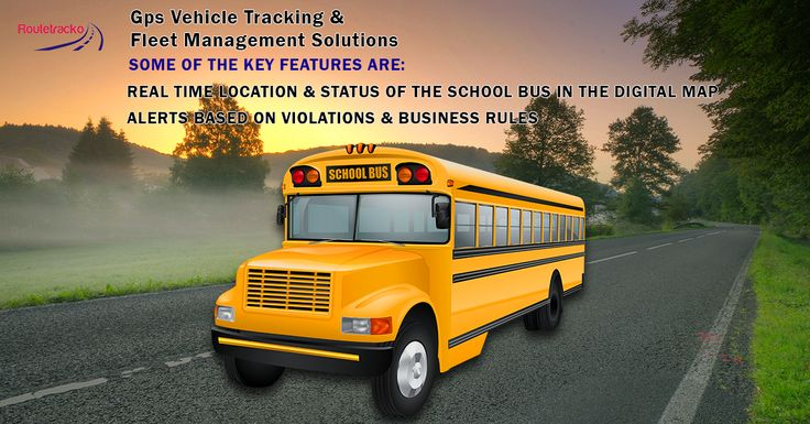 A school bus tracking system tells you where your buses are, when they will arrive at various locations, and how carefully they are being driven. With a school bus tracking solution from Track Your Truck, you can coordinate bus schedules among a district's schools, improve on-time performance and increase safety.