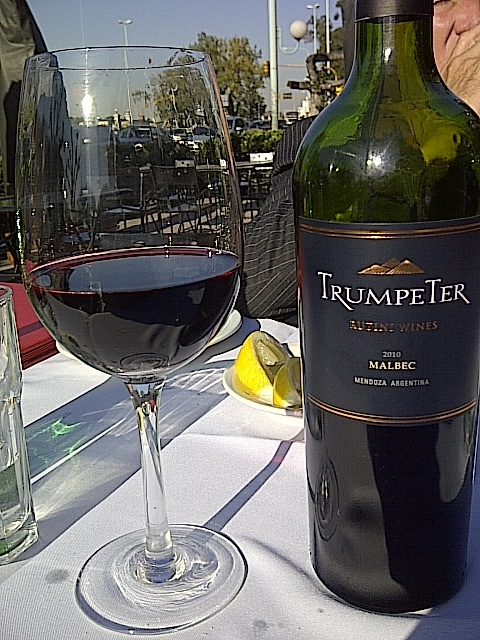 Trumpeter Malbec.   One of the best Argentine Malbecs