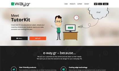 Η e-way είναι μια εταιρεία ανάπτυξης λογισμικού με προϊόντα που απαντούν αποτελεσματικά και εύστοχα στις ανάγκες της αγοράς.