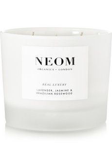 Neom Organics Real Luxury Lavender, Jasmine and Brazilian Rosewood scented candle | NET-A-PORTER