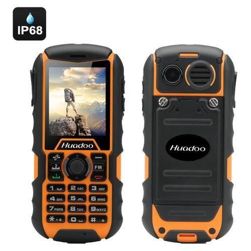 Huadoo H1 IP68 Rugged Cell Phone (Yellow)