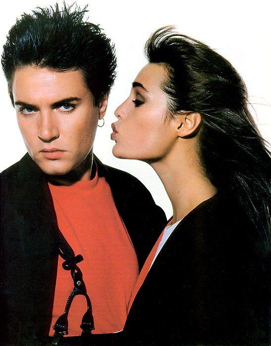 Simon & Yasmin Le Bon (Elle Mag)