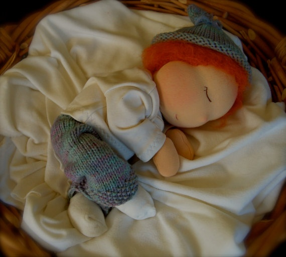 Clearance Fiona A 14 Nurture Baby Waldorf DollReady by rbillington, $175.00