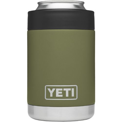 Yeti Rambler Colster Green - Thermos Cups And Koozies at Academy Sports