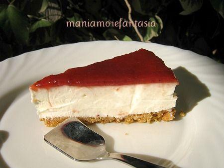 Cheesecake senza cottura | ricetta cheesecake fredda |