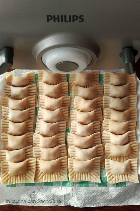 Casoncelli di mamma Bianca #philipsincucina #pastamaker