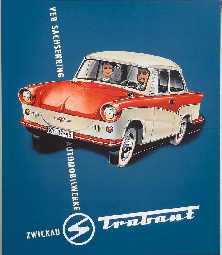 Werbung für den Trabant 600
