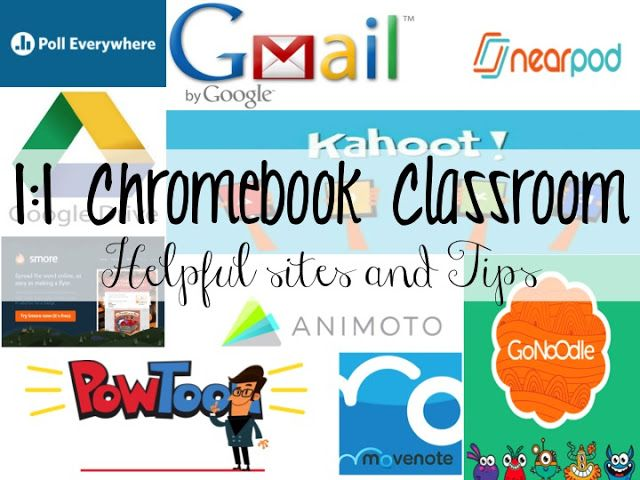 1:1 Chromebook Classroom- Helpful Tips and Sites