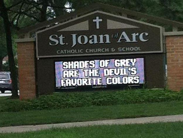Church Hates 50 Shades Of Grey