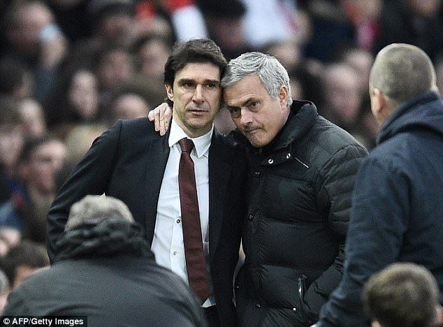 Karanka had a close friendship with Jose Mourinho after working with him at Real Madrid