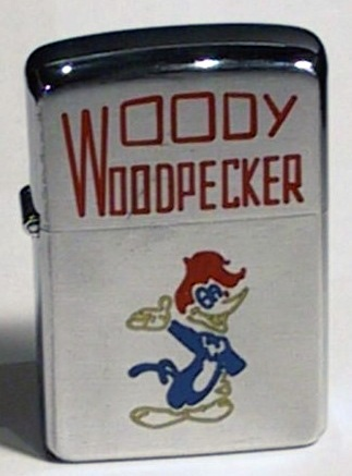 The Story of Woody Woodpecker and the Zippo Lighter