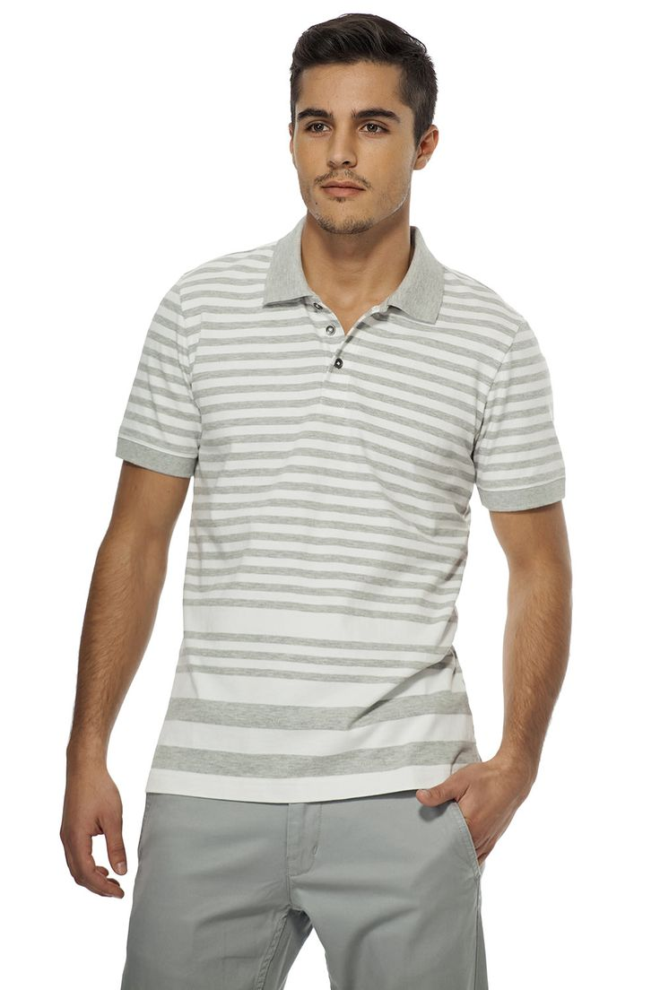 Polo à rayures multiples / Multi-stripes polo