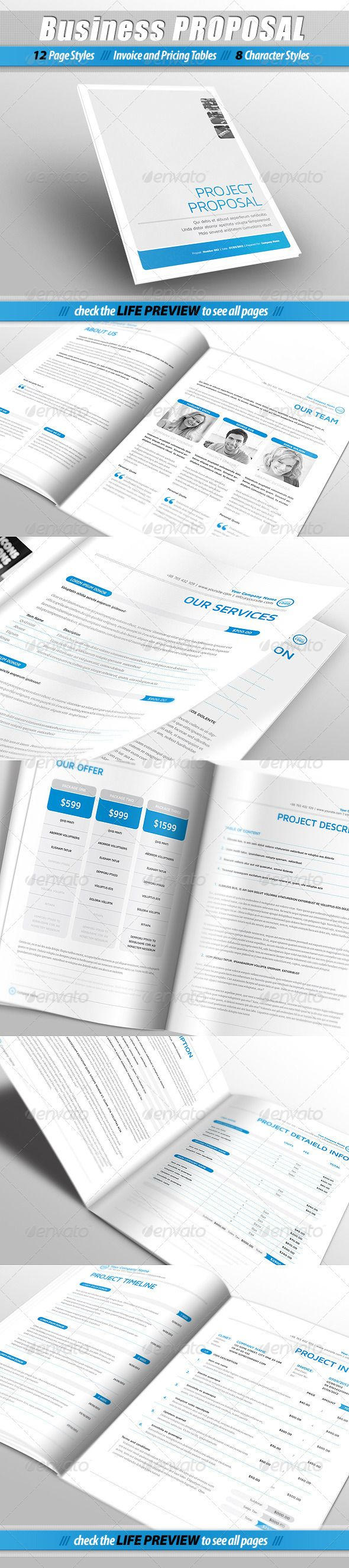 Business PROPOSAL - Proposals  Invoices Stationery