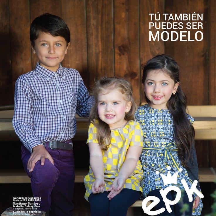 EPK busca los #Modelos de su próxima campaña internacional Otoño – Invierno 2015. ¡Inscribe a tu niño (a) de entre 6 meses y 12 años en tu tienda @EPKcolombia más cercana y participa próximamente en el #casting @Informamodels! #ModeloEPK #model #kidswear