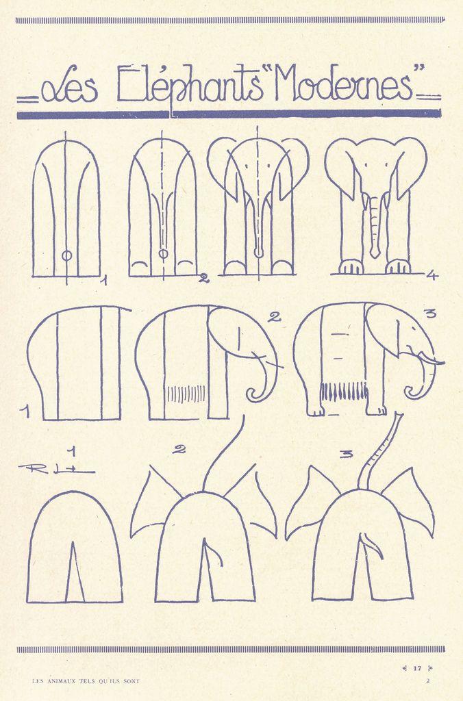 Drawing Animals: Elephant