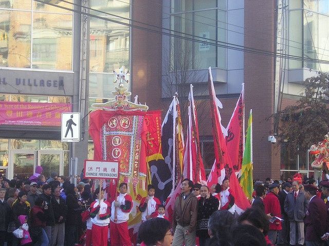 Chinese New Year Parade Banners in Vancouver by sillygwailo, via Flickr