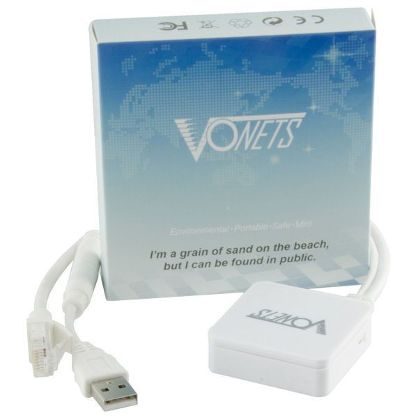 Vonets VAR11N-300 Wireless 300Mbps Mini Network Router / Repeater WiFi Bridge. #Vonets