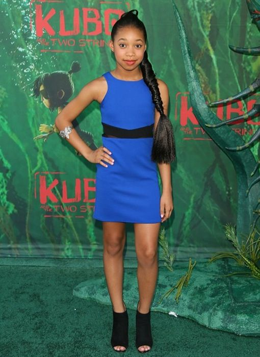 "Kyla Drew at the ""Kubo and Two Strings"" Premiere"
