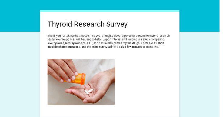 Thyroid Research Survey