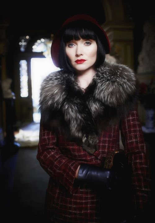 Miss Fisher's Murder Mysteries. Lovely show, especially if you love period pieces like Downton Abbey. Find it on Netflex