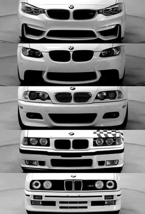 #BMW 3 #Series evolution