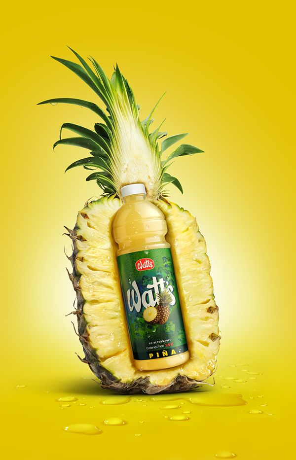 Watt´s Juice Poster by Ziro Salazar, via Behance