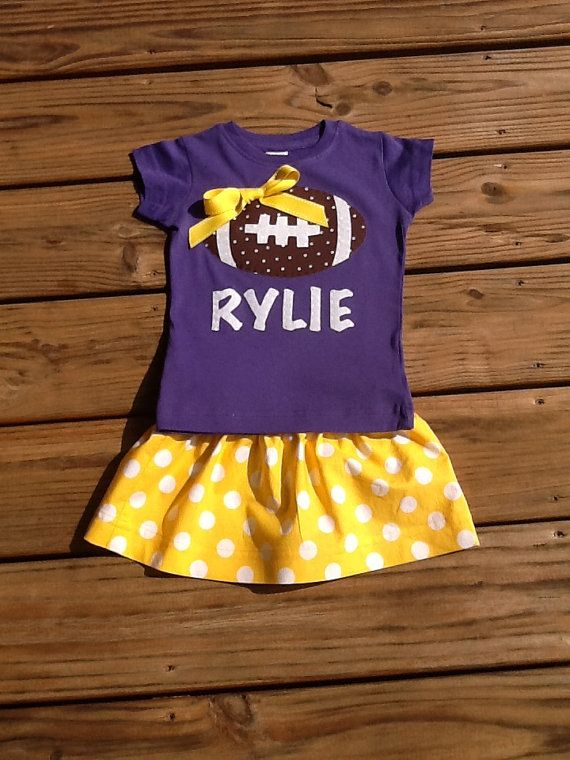 We bleed LSU purple and gold in my family. The little princess is sure to be the same once she arrives:) lots of cute outfits and bows will fill her closet representing our LSU Tigers!