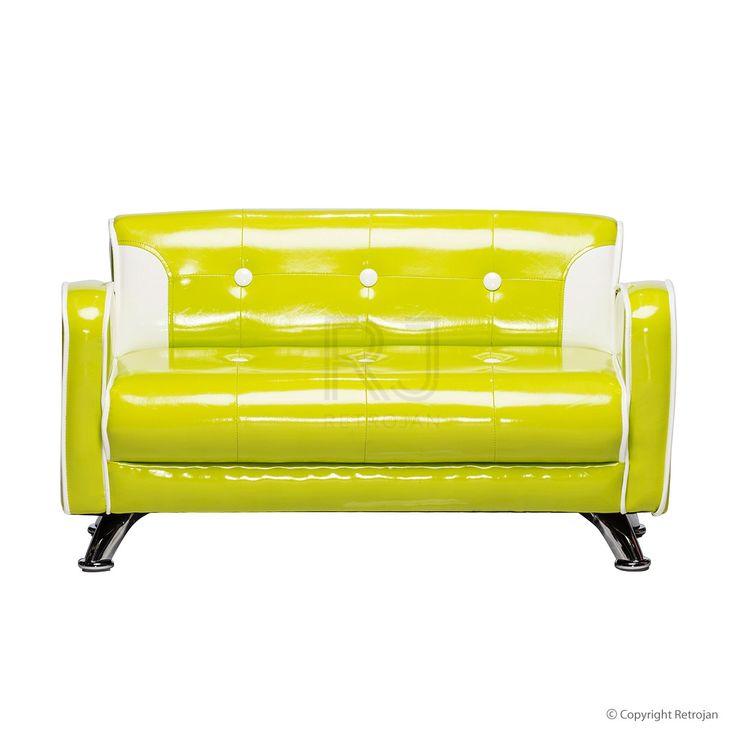 Ginny Kids Sofa - Green | $99.00