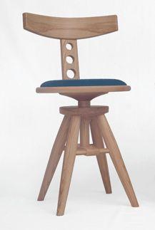 """Pivotante"" Chair - Upholstered"